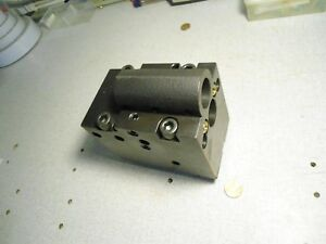 Mori Seiki Cnc Lathe Tool Holder 1 Holes