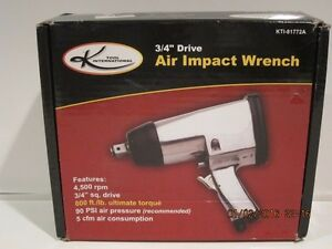 K International 3 4 Drive Air Impact Wrench Kti 81772a Free Shipping New In Box
