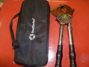 Southwire Ccpr1k Ratcheting Cable Cutters 1000 Cu al W Telescoping Handles