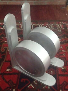 New Large Aluminum Art Deco Corbel Bracket Pair Never Used 28 Pounds Each