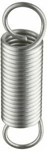 Extension Spring 302 Stainless Steel Inch 1 Od 0 115 Wire Size 8 Free