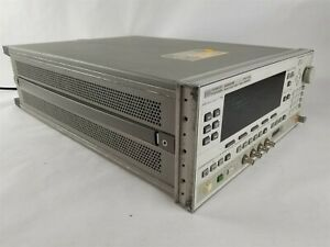 Hp 83620b Synthesized Swept Signal Generator 8360b Serie 10mhz 20ghz Opt 008 8ze