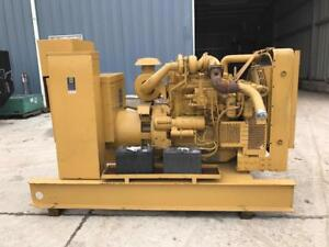 113 Kw Cat Generator Set 12 Lead Reconnectable Skid Mounted Cat Engine