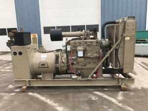 _200 Kw Dmt Generator Set 12 Lead Reconnectable Year 1998 John Deere Engine