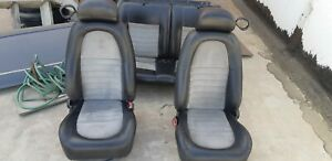 2001 Mustang Cobra Coupe Full Set Of Seats