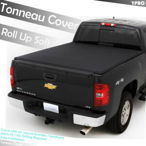 2015 2019 Chevy Colorado 6 Ft 72 Truck Bed Lock Soft Roll Up Tonneau Cover