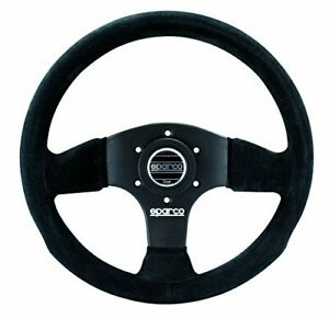 Sparco 015p300sn P 300 Series Suede Black Steering Wheel