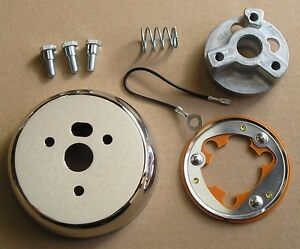 3 Hole Steering Wheel Adapter Kit For 69 93 Chevy Gm Buicks Cadillac Chevele Cj5
