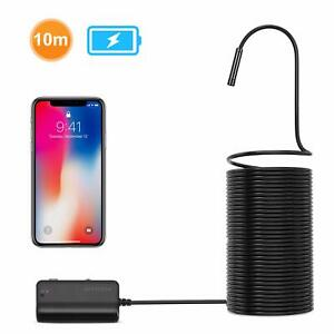 Wireless Snake Inspection Camera Endoscope Wifi Ios Smartphone Android Tablet
