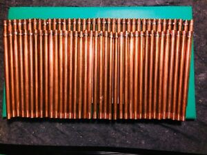25 New 1 2 X 12 Length Copper Air Chamber Type L With Nibco Soldered Cap
