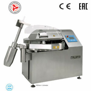 Talsa K80neo Pp Commercial 80 Gal Bowl Chopper Cutter Three Phase 220v