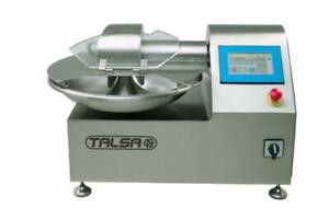Talsa K15neo Commercial 4 Gal Bowl Chopper Cutter Single Phase 220v