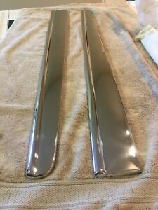 1946 49 Cadillac Limousine Fender Skirt Moldings pair
