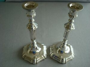 Tiffany Sterling Silver Candlesticks Candle Holders 8 3 4 Superb