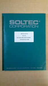 Soltec Corporation 3310 Series Strip Chart Recorder Service Manual 7c B4