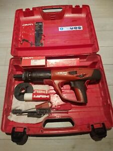 Hilti Dx 460 Powder Actuated Nail Gun W f10 Nose And Some Extras Free Shipping