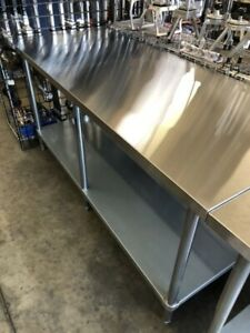 Stainless Steel Work Table Brand New 30 X 72