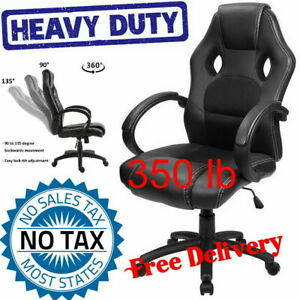 Modern Heavy Duty High Back Desk Gaming Computer Racing Ergonomic Leather Chair