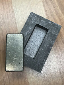 10 oz Loaf Bar - Silver Graphite Ingot Mold  scrapping  Casting Melting Refining