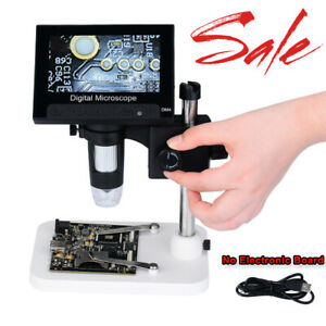 1set 4 3 1000x Hd Lcd Monitor Electronic Digital Video Microscope Led Magnifier