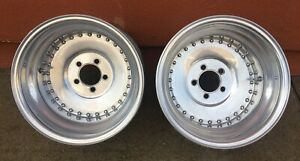 Vintage Centerline Center Line Aluminum Auto Drag 15x10 Wheels Hot Rod Nhra