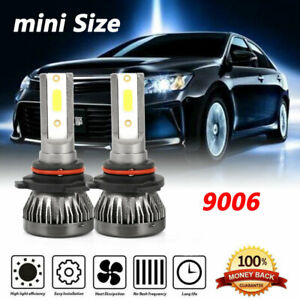 2x 9006 Hb4 Led Headlight Conversion Kit Bulb 240000lm High Power 8000k Ice Blue