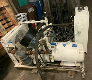 Ingersoll Rand Model 50h sp 205 Cfm 125 Psi Rotary Screw Air Compressor 3ph 200v