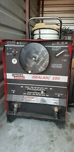 Lincoln Idealarc 250 Ac dc250 Welder Stick Arc 1 phase