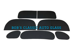 1937 1938 1939 Ford Coupe Windows Classic Auto Glass Vintage Antique New Flat