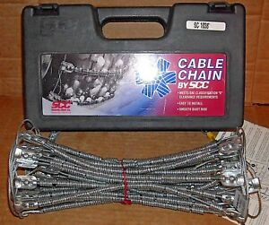 Scc Radial Cable Tire Snow Chains Sc1038 Never Used