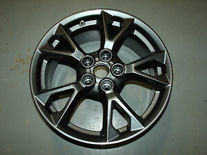 2012 2015 Nissan Maxima Wheel 18x8 5 V Spoke Hyper charcoal
