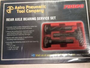Astro Pneumatic Rear Axle Bearing Service Set 78820