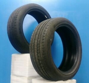 Set Of Two 2 19 Continental Conti Procontact Tires 235 45r19 95h Dot16