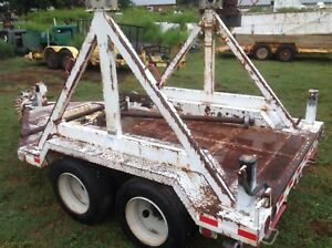Sherman Reilly 20 000 Lb Reel Cable Trailer 30 000 Gvw