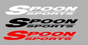 Spoon Sports Car Racing Automotive Parts 7 To 18 Vinyl Decal Buy 3 Get 1 Free