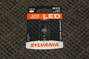 New Sylvania Zevo Led Light De3175 White 6000k One Bulb Map License Dome