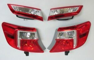 Toyota Camry Tail Lights 2012 2014 Full Set Of 4 New