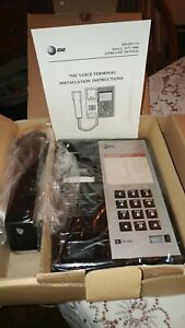 At t Technologies 7102 Analog Voice Terminal New Old Stock hearing Aid Compat