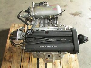 Jdm 97 01 Honda Cr V Dohc 2 0l High Compression B20b Longblock Engine Motor B18b