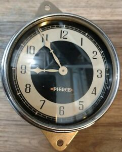 1933 1934 Pierce Arrow Clock Excellent Fully Reconditioned Rare