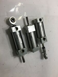 Lot Of 3 Phd As 3 4x1 1 2 p Pneumatic Cylinder