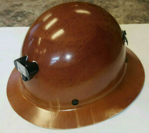 Skullgard butte Full Brim Hard Hat W Lamp Bracket And Cord Holder msa460389