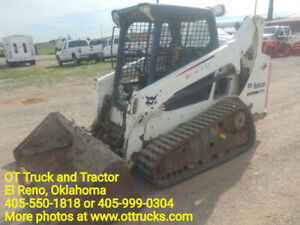 2013 Bobcat T590 Track Skid Steer Loader 1921hrs 66hp Joystick H Used