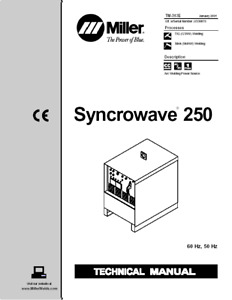 Miller Syncrowave 250 Service Technical Manual