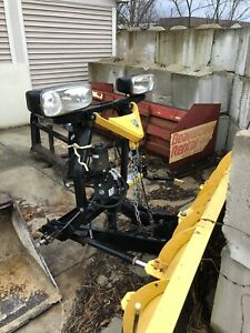 Fisher 7 6 Minute Mount Snow Plow Salt Dogg Shpe1500 Spreader