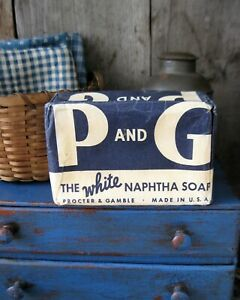 Antique P G Bar Laundry Soap Free Shipping