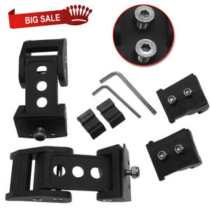 A Pair Hood Latch Locking Catch Buckle Fits Jeep Wrangler Jk Jl Unlimited Black