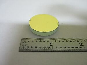 Optical Round Mirror For Microscope Olympus Stereo Optics As Is Bin n8 81