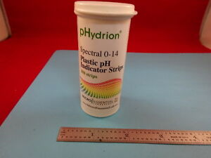 Ph Indicator Strips Phydrion Tester 27 a 12