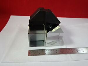 Reichert Leica Polylite Mounted Prism Assembly Microscope Part As Is b8 a 17